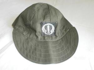 Paracadutisti-Folgore: RARO Cappello Unif.da Campo