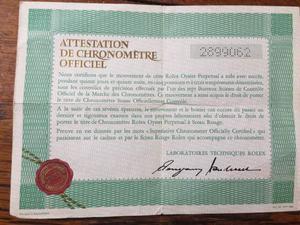 Rolex garanzia epoca originale