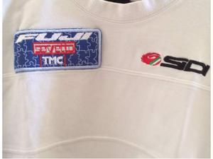 T shirt squadra ciclistica Fuji riposo Dopogara