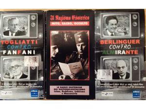 Togliatti-Fanfani, Berlinguer-Almirante, il nazismo