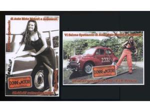 VI Salone Spettacolo di Auto,Moto e Accessori  cartoline