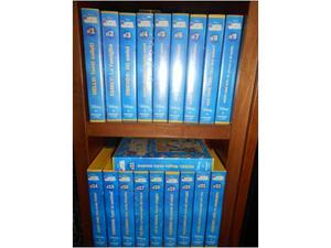 19 Videocassette Disney Magic English per bambini