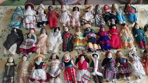 Bambole dal mondo collezione completa
