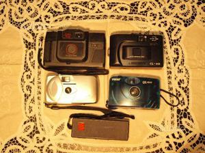 Cinque macchinette fotografiche Vintage