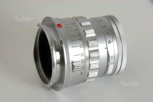 LEICA LEITZ 50mm f2 SUMMICRON 50mm Rigido M-MOUNT