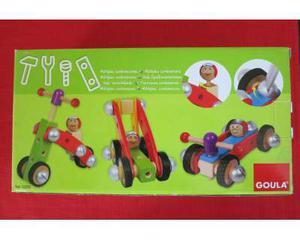 Macchinina in legno da montare per bambini di 3 anni