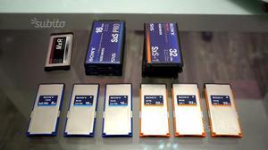 Memoria Sony SXS  e 8 GB per PMW EX1 EX1R EX3