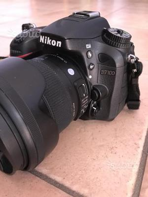 Nikon D + Sigma