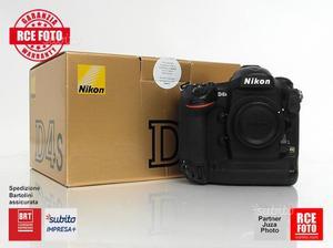 Nikon D4s - GARANZIA 1 Anno
