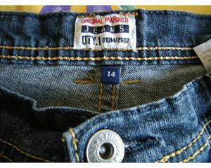 "Original Marines"" jeans per ragazzo di 14 anni praticamente"
