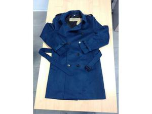 Trench Burberry Cashmere  Dark Mineral Blue