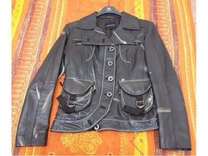 Vendo giacca in vera pelle denny rose taglia 46