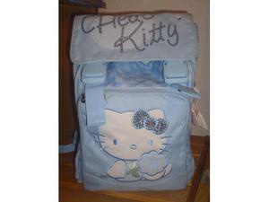 Zaino estensibile azzurro hello kitty
