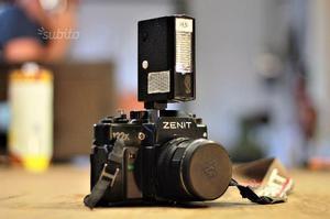 Zenit 122k analogica relex macchina fotografica