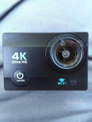 Action Cam ULTRA HD 4K Black - WI FI - NUOVA