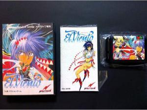 El Viento Mega Drive jap nuovo completo al 100%