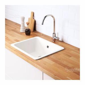 Lavello cucina ceramica posot class - Lavandino cucina ikea ...