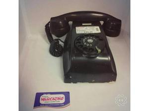 Telefono nero bachelite da muro