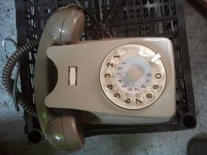 Telefono vintage grigio sip da parete