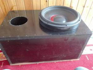Vendo subwoofer dragster
