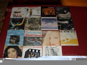 Wanted vintage lotto n2 di 15 dischi 45 giri