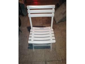 Vendo sedie azzurre plastica pieghevoli posot class