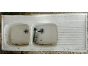 Lavello gocciolatoio in ceramica