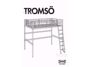 Letto A Castello Tromso Ikea.Letto Ikea Stolmen A Soppalco Alluminio Posot Class