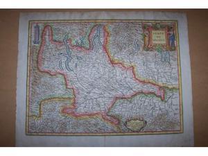 Mappa del  di giovanni antonio magini-stato di milano-