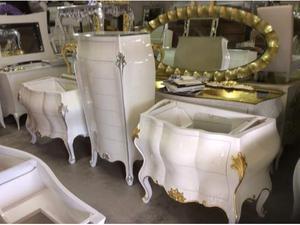 Mobile bagno in marmo stile barocco veneziano | Posot Class
