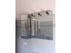 Mobiletto a specchio per bagno