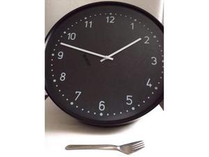 Orologio da parete bondis nero posot class for Ikea orologio parete