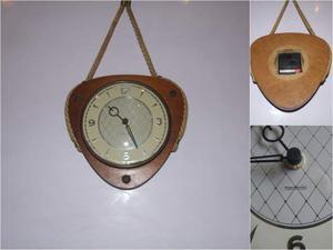 Orologio mercedes vintage da parete con corda