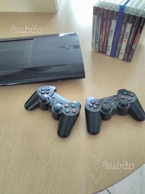 PlayStation 3 slim 12Gb + 2 controller + 10 giochi
