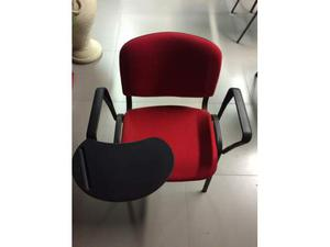 Sedia con scrittoio removibile (Disponibilità 6)