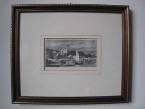 Stampa antica xilografia del pittore shonheber