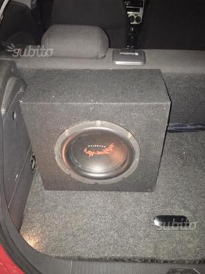 Subwoofer dragster 500w amplificato