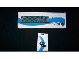 Tastiera + Mouse MAI USATI.