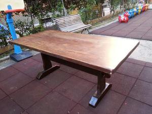 Tavolo massello con sedie