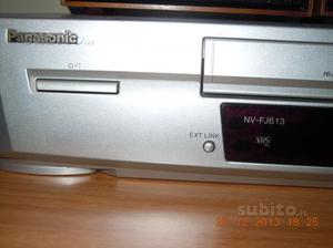 Videoregistratore vhs PANASONIC NV FJ 613 ELS- TV