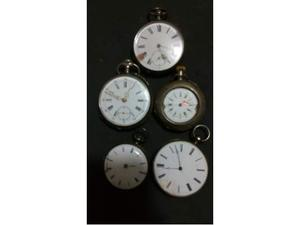 5 orologi da tasca d'epoca