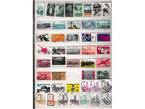 Anni ' N 140 francobolli esteri comm.tivi usati