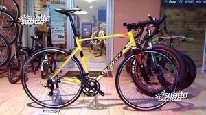 Bici corsa montegrappa con kit