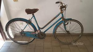 Bicicletta da donna vintage da 26 azzurra