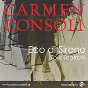 Carmen Consoli - Biglietti Concerto Carmen Consoli -