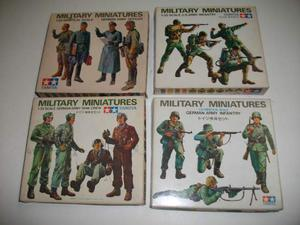 LOTTO 1- composto da kits figurini militari tamiya 1/35
