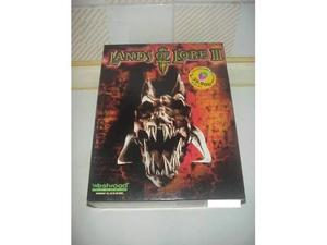 Lands of lore 3 videogioco pc cd rom videogame vintage game