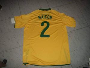Maglia Maicon Brasile originale