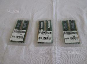 Memoria ram 2 gb (2 x 1gb) ddr2