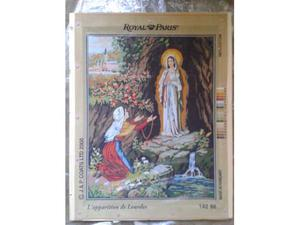 Mezzopunto Royal Paris Apparizione Madonna di Lourdes 48 x
